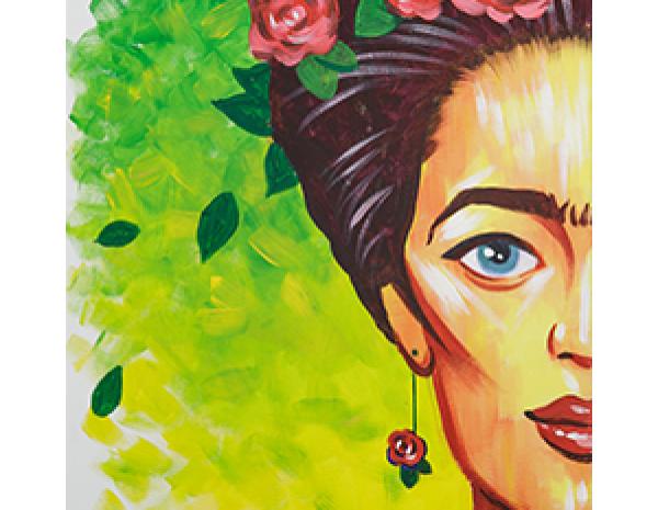 Арт-вечеринка: Frida